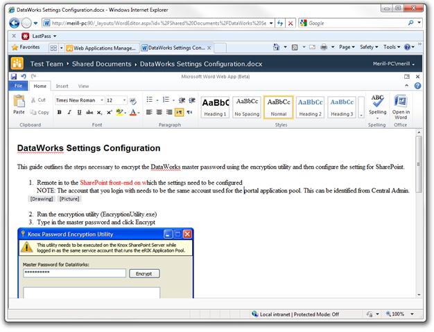 SharePoint-2010-Word-Editor
