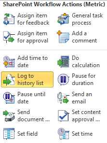 SharePoint Workflow Actions