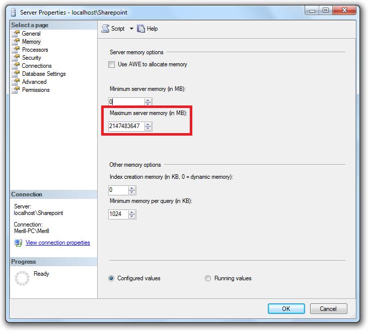 Sql Server Express Limit Hack
