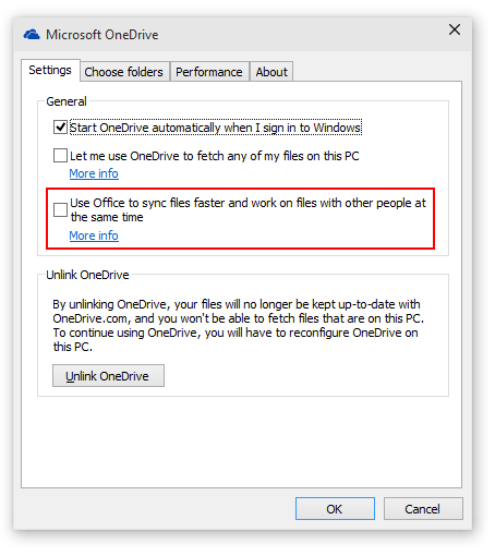 Fix: Windows 10 (Technical Preview) OneDrive Sync Issues with Office