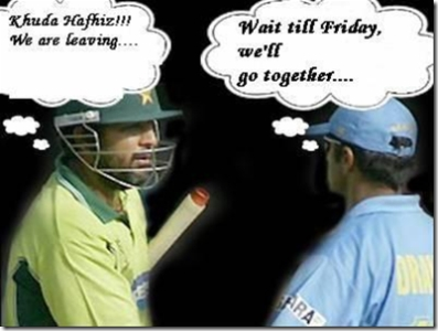 Inzamam & Dravid comedy
